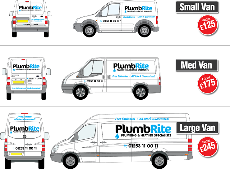 Vehicle Graphics Pricing Simple
