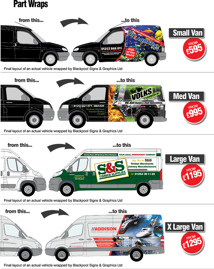 Vehicle Wrapping Van Wraps Car Wraps Bus Wraps