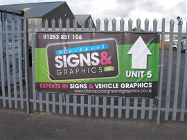 Blackpool Signs and Graphics Large Format Digital Printing Gallery