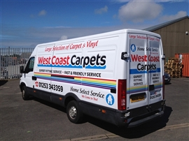 Blackpool Signs and Graphics Vehicle Graphics Gallery