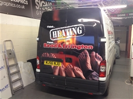 Blackpool Signs and Graphics Vehicle Wrapping Gallery