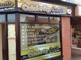 Blackpool Signs and Graphics Window Graphics Gallery
