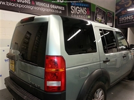 Blackpool Signs and Graphics Window Tinting Gallery